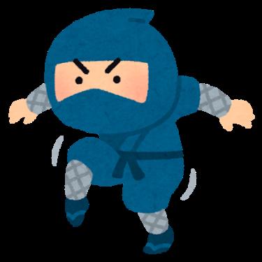 忍者の訓練